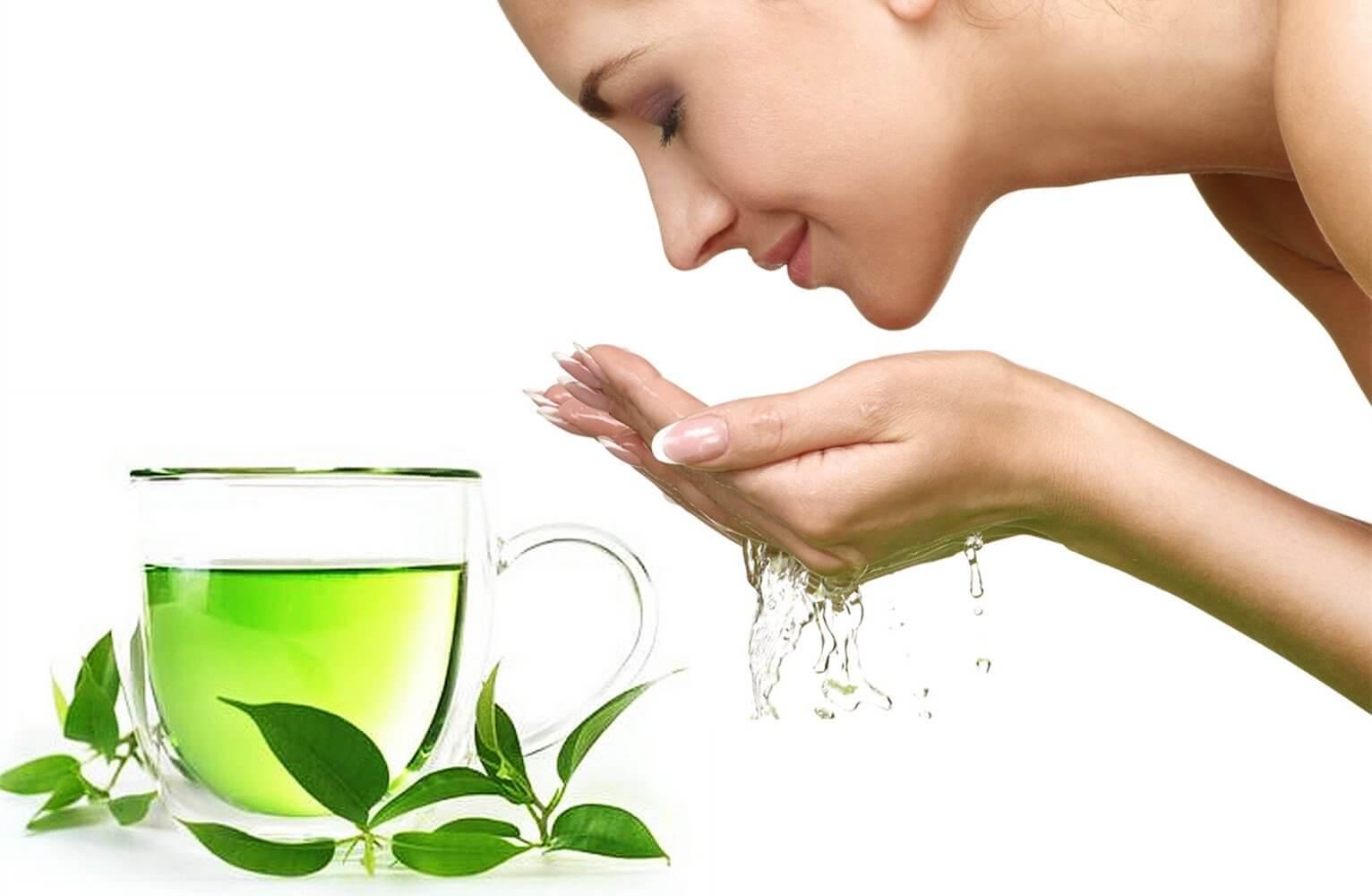 Công dụng làm đẹp da của trà xanh