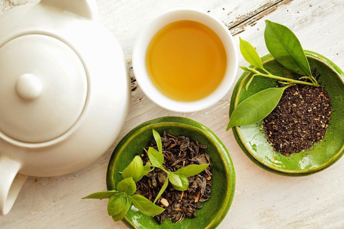 Quy trình sản xuất trà xanh